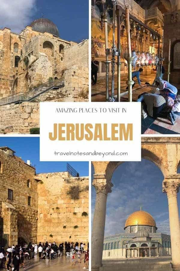 What to do in Jerusalem