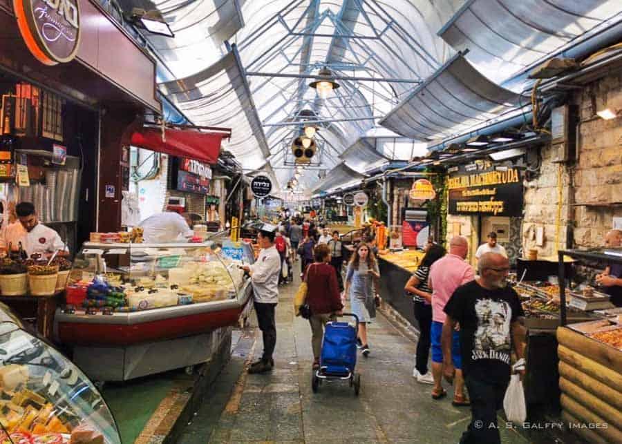 Yehuda Market in Jerusalem