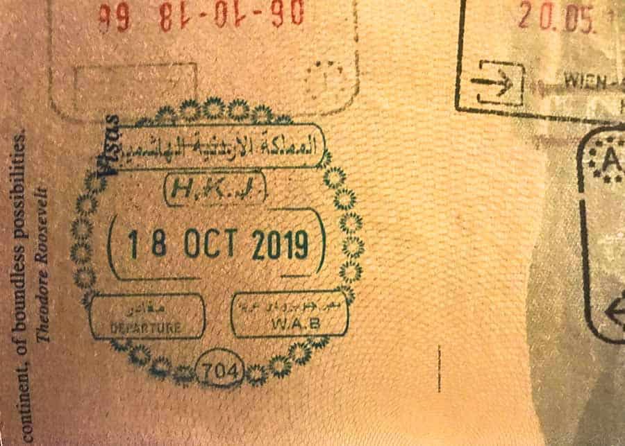 Jordanian visa