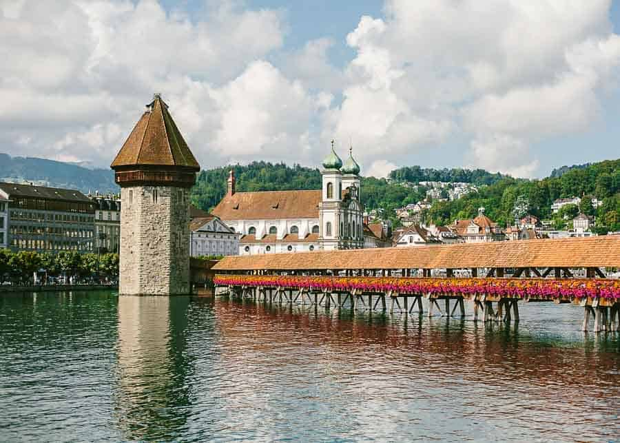 One day in Lucerne - Chapel Bridge