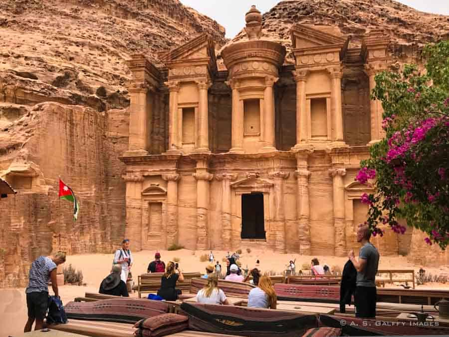 The Monastery - best places to see in Jordan
