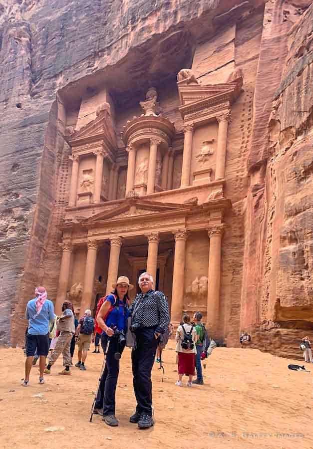 traveling to Jordan in Petra