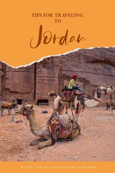 Travel to Jordan pin