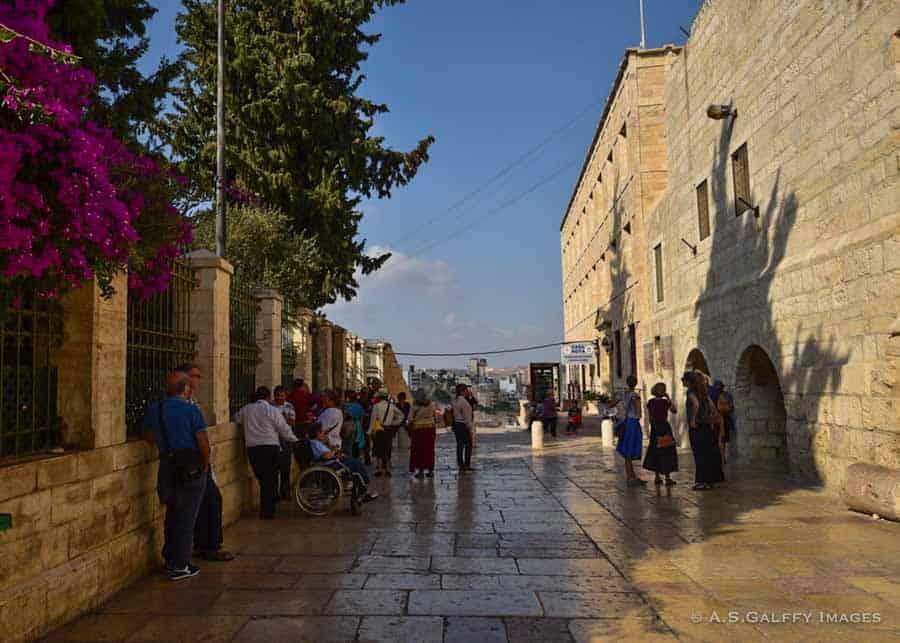 Jerusalem to Bethlehem trip