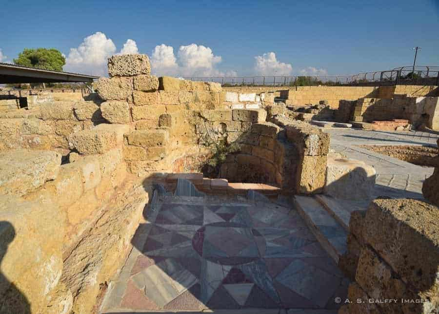 Best places to visit in Israel: the ruins of Caesarea