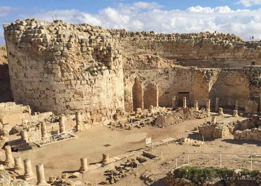 The ruins of Herodium