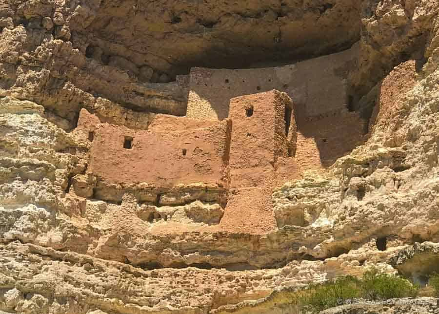 Montezuma Castle, one of the best preserved Indian ruins in Arizona