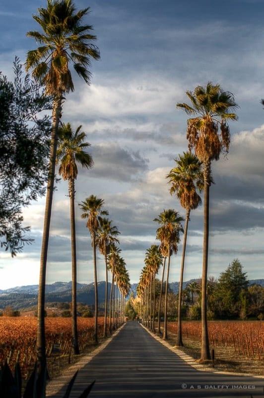 Napa Valley California romantic getaway