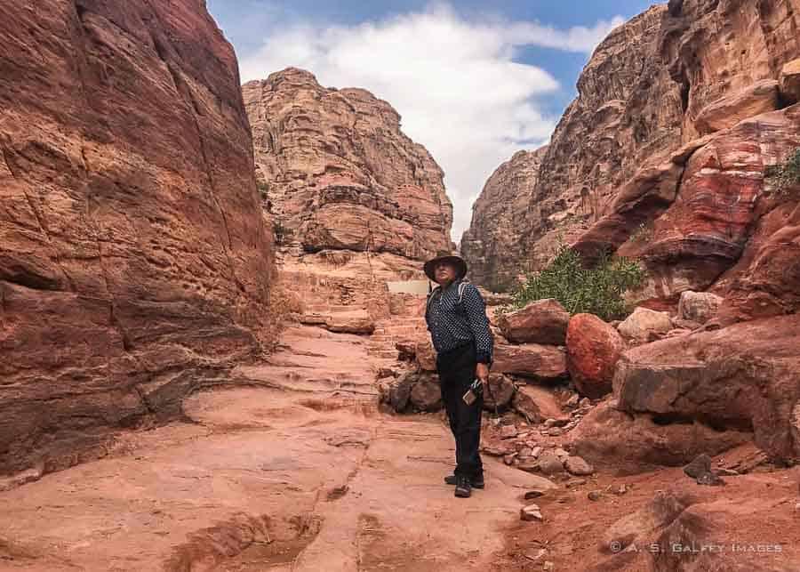 Visiting Petra in fall