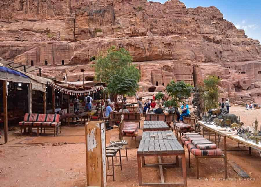 Eatery in Petra
