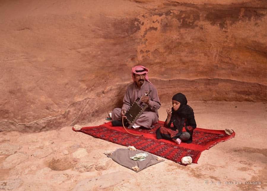Bedouins in Petra