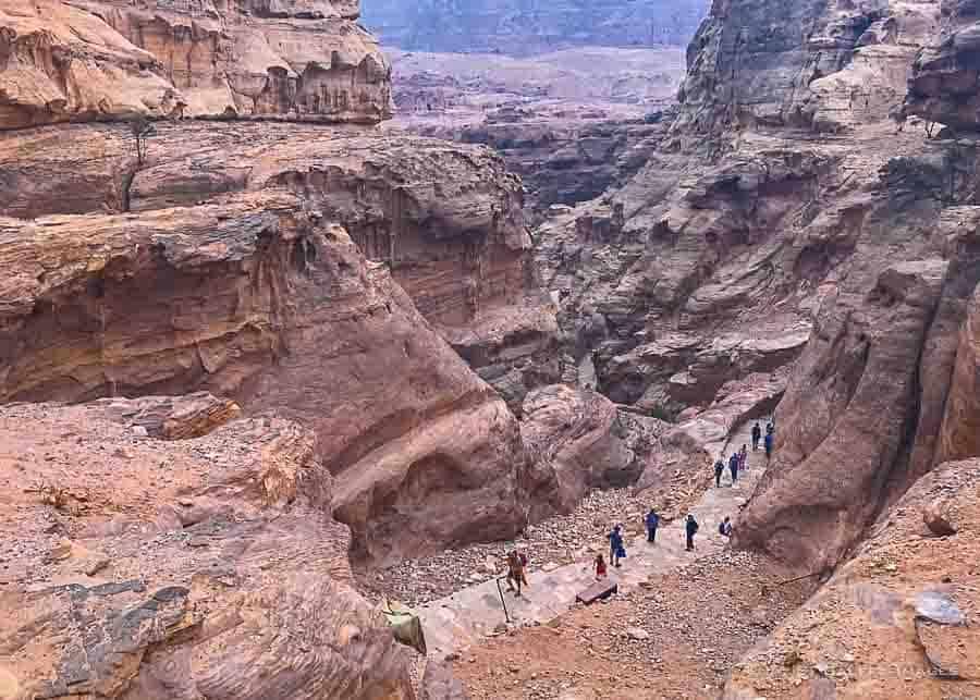 Trails in Petra