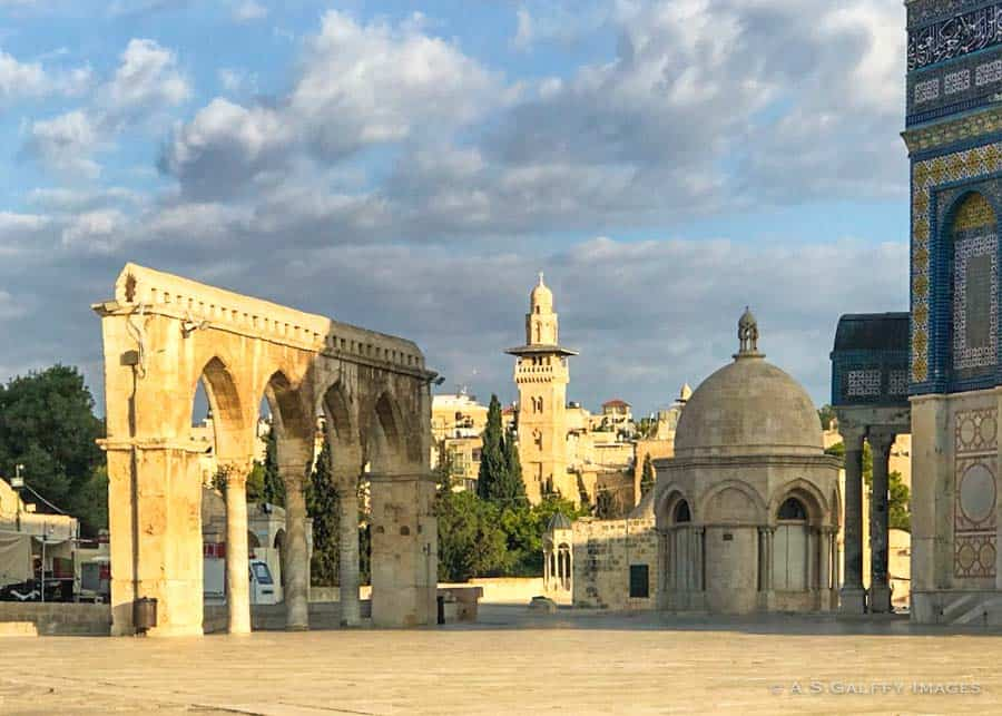 Visiting Temple Mount and Dome of the Rock