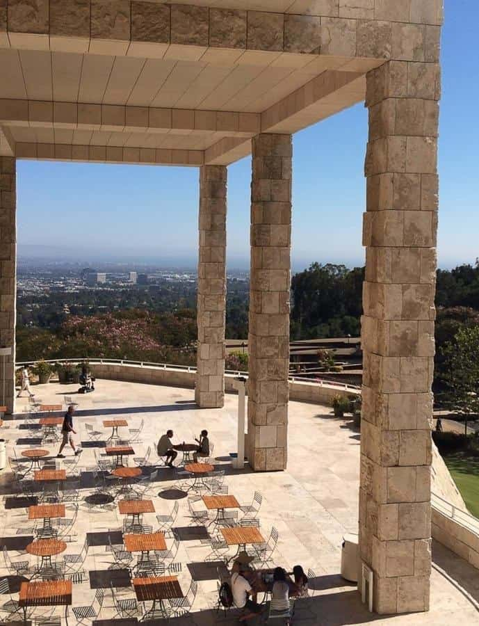 Restaurant at the Getty Center Los Angeles