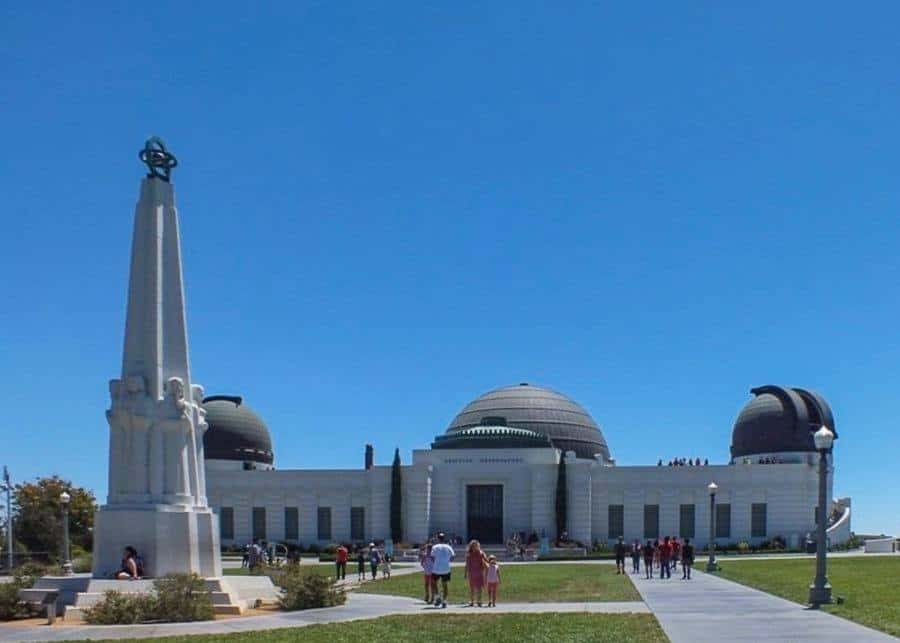 View of the Griffith Observatory - 3 days in Los Angeles